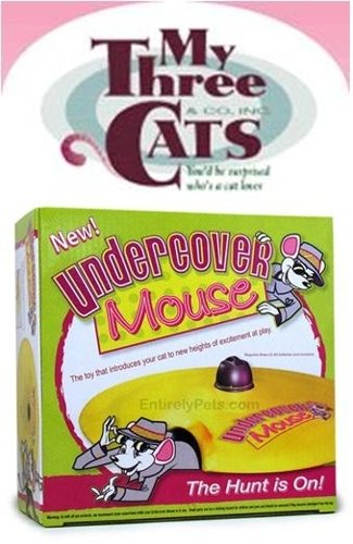 Undercover Mouse from My Three Cats & Co.