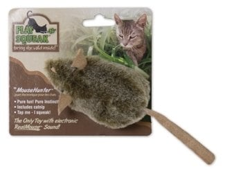 Play-N-Squeak Mouse Hunter Cat Toy $3.77
