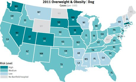 Banfield releases 2012 State of Pet Health Report
