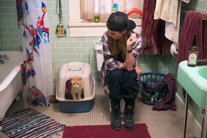 """BAD JUDGE -- """"The Cat's Out Of The Bag"""" Episode 109 -- Pictured: Kate Walsh as Rebecca Wright -- (Photo by: Neil Jacobs/NBC/NBCU Photo Bank)"""