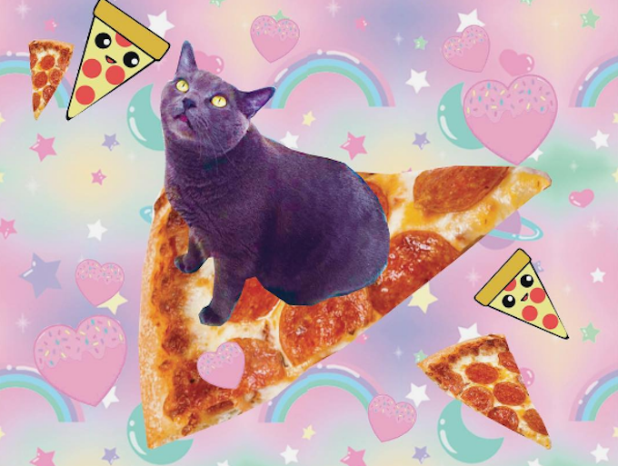 KawaiiCatCafeProfessorPizza