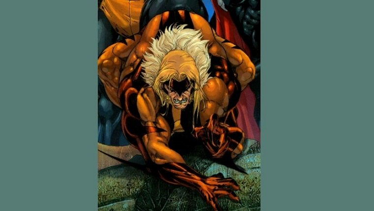 Sabretooth has fangs and claws