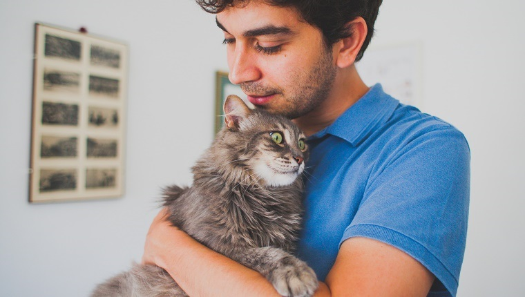 In love with cat