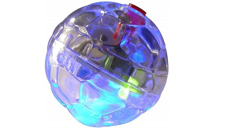 cat led ball toy