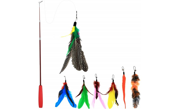feather toys