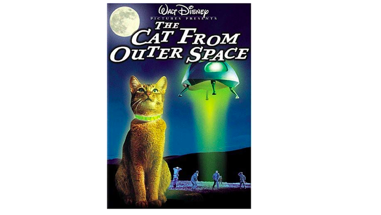 The Cat From Outer Space DVD