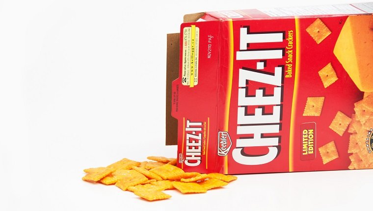 Box of Spilled Cheez-Its